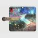 【L】ほたるの川/手帳型スマホケースAndroidLサイズ, iPhone6Plus/6sPlus/7Plus/8/8Plus/XR/XS Max