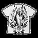 フルグラフィックTシャツ TRAD SNAKE ホワイト