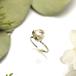 Three star pearl ring