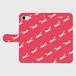 きつねつらなりiPhone7手帳型ケース