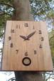 桜の振り子時計 L
