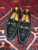 .GUCCI LEATHER HORSE BIT LOAFER MADE IN ITALY/グッチレザーホースビットローファー 2000000032139