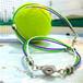 """Tricolor Ring ブレスレット&アンクレット""""WIMBLEDON"""""""