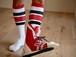 TWINS sports socks for ski jump+TWINS sticker 薄手タイプ