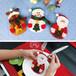 雪だるま カラトリーケース カラトリー カラトリーラッピング パーティー X'mas クリスマス X961108-3p