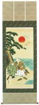 高砂 上野渓舟 尺八立 6086
