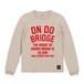 ON DO BRIDGE LETTERS LONG T-SHIRTS サンドベージュ