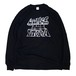 CONB / LOW PRICE UTOPIA L/S T-SHIRTS BLACK