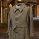 3-50's FRENCH ARMY MOTORCYCLE  COAT DEADSTOCK