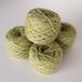 草木染め毛糸 淡いグリーン02 並太