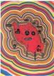 【ポストカード】 粟津潔 70年代、線のシリーズ3枚セット