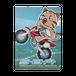 <クリアファイル>バイクみーちゃん&おすわりみーちゃん