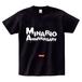 minario / BLOODY ANNIVERSARY LOGO T-SHIRT BLACK x WHITE