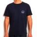 MOUNTAIN × GAKIYA ISAMU Tシャツ / Surf boy  / Navy