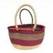 ガーナの楕円かご A / Ghanian Oval Basket A
