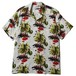 """""""BLACK PANTHER CAFE ALOHA SHIRT """" REMASTER """" (WHITE) / RUDE GALLERY"""