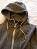 Classic Sweat Zip Parka(Re made in tokyo japan)