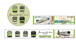 鉄道クロニクル山手線 マスキングテープ