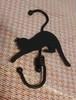 黒猫ロールフック 123-6