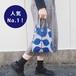 ミニョンバッグ・ドゥ フルール GY×BL 012992-26 maison blanche (メゾンブランシュ) 【日本製】