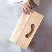 ヌメ革(生成り)のクラッチバッグ(大)【nicori/にこり】 #荷物が増えると機嫌をそこねます。#2way #手縫い #手もみ #選べるアルファベット刻印#送料無料