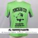 Tommy North  ポンちゃんカップ2014 アクティブ バドミントンTシャツ PON0001 ライム×グレー