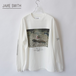 JANE SMITH/ジェーンスミス・Napping Chilling L/S T-Shirt