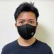 BLACKロゴ マスク(Lサイズ)
