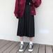 【ボトムス】カジュアル無地Aラインスカート26473009