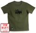 ワンウォッシュTOY T-shirts / モスグリーン