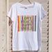 wakuwaku holidayオリジナルメッセージロゴTシャツ(ホワイト)