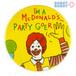 マクドナルド 缶バッジ ロナルド I'm a McDonald's Party Goer