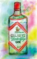 GILBEY GIN RED  (ジクレーA3プリント)