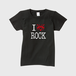 show PRODUCE 「I LOVE ROCK」 レディース Mサイズ T-SHIRT RED LOGO