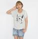 ネコ- Tシャツ レディース