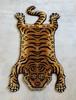 ※ご購入前に必ず在庫確認お願いします! (M) タイガーラグ  虎 ラグマット タイガー ラグ マット