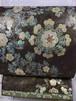 川島織物 黒地螺鈿袋帯