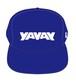 オフィシャル「YAVAY」キャップ(ヤバ青)
