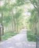 絵画 庭園散歩(原画)