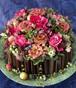 【生花】 お祝い事におススメ! ケーキアレンジメント