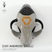 ANVA CRAFT CAT ANDROID SKULL - 1/1 resin model kit