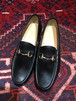 .GUCCI LEATHER HORSE BIT LOAFER MADE IN ITALY/グッチレザーホースビットローファー 2000000034881