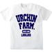URCHIN FARM CollegeT-shirts (ホワイト)