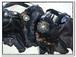 Gothic leather bra