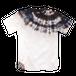 カジュアル藍泥染Tシャツ|マテリア ホワイト/ad007