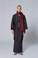 羽織 / 十日町二色 / Black×Wine(With tailoring)