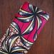 アフリカンワックスプリント(キテンゲ) pink & lily