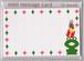 mini X'masメッセージカード【カエル】