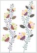 ポスター flower 1 (A3)
