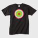 カラフル細胞 黒T おされに着よう♪ Tシャツ 黒 Sサイズ トナー熱転写